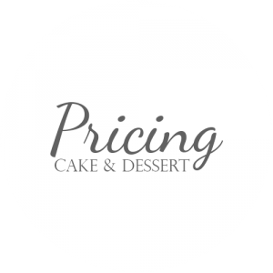 Cake and Dessert Pricing Button